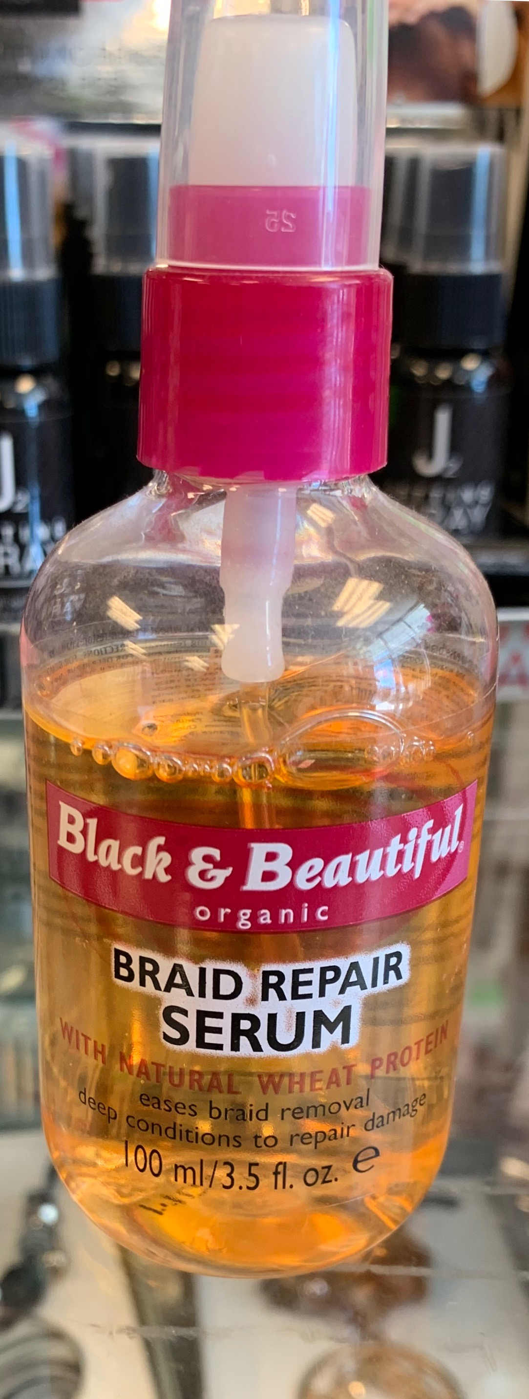 Black & Beautiful Braid Repair Serum