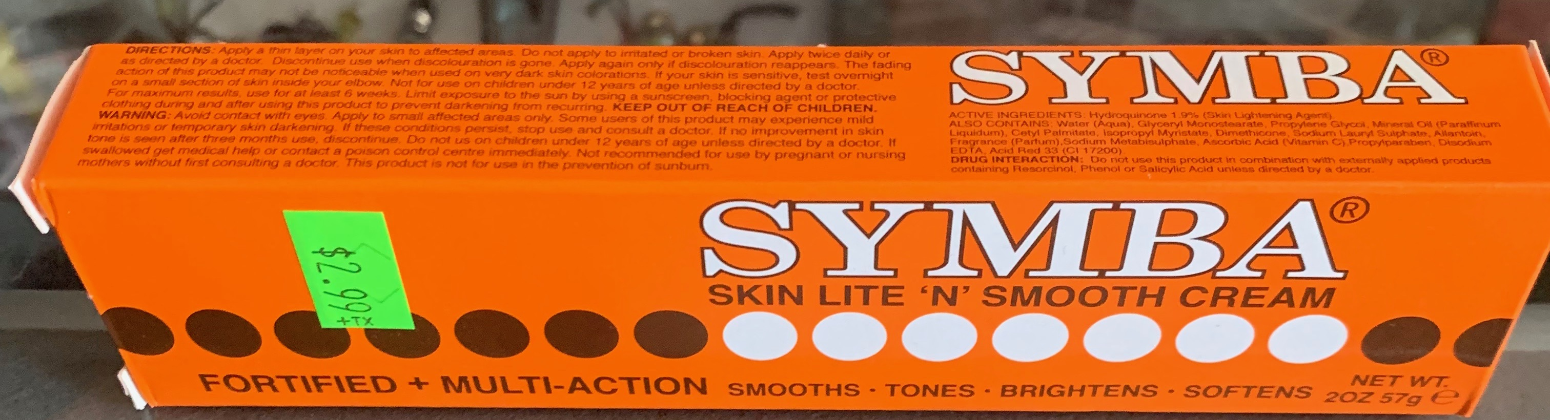 Symba Skin Lite 'N' Smooth Cream