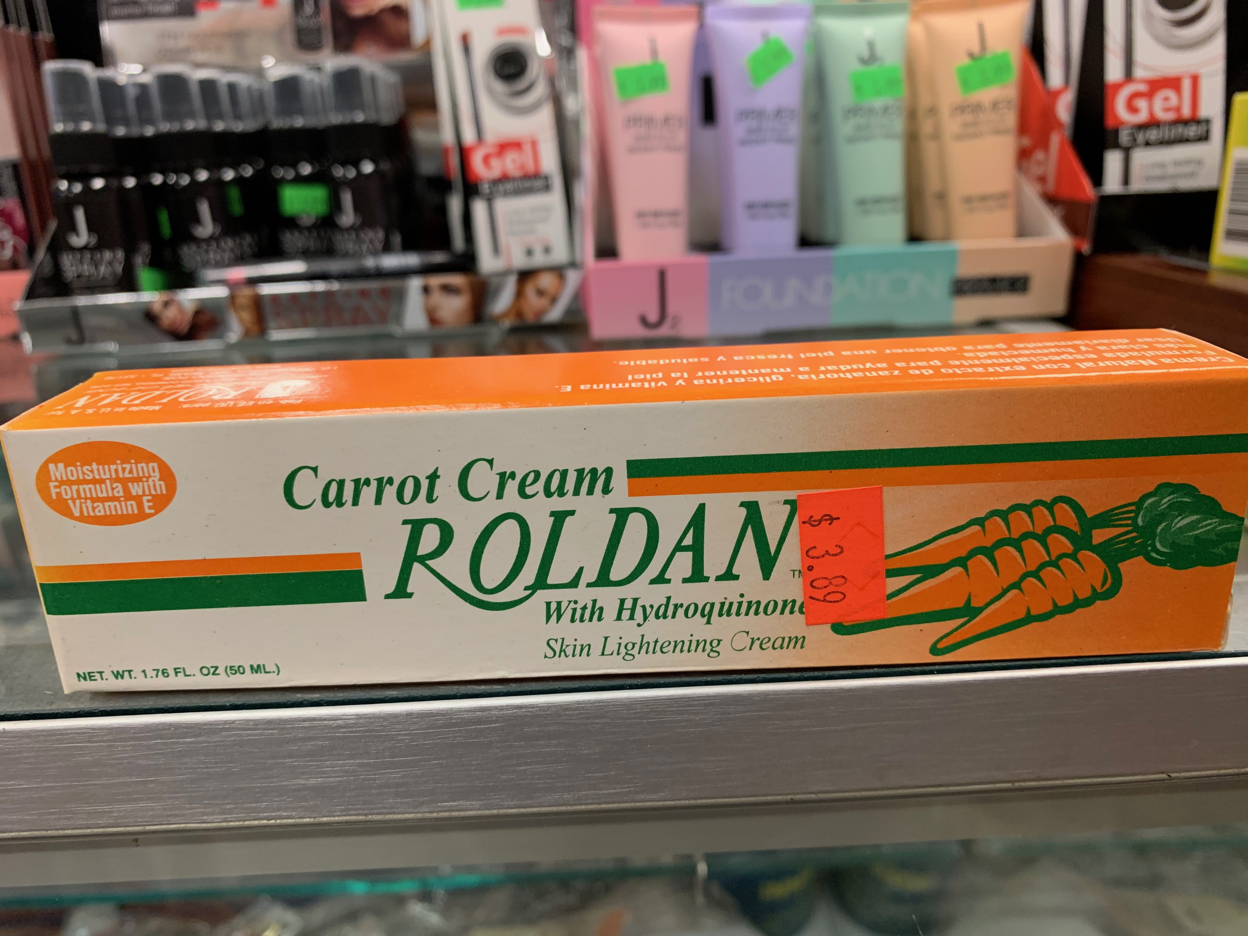 Carrot Cream Roldan